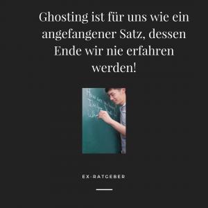 ghosting ursachen